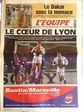 L'Equipe Journal 12/1/2000; Le Dakar sous la menace terroriste/ Le coeur de Lyon