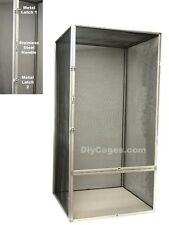 XXL 48x24x24 Screen Reptile Chameleon Lizard Cage DIY CAGES SC-4 NEW! Free Ship!
