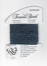 Rainbow Gallery Treasure Braid 16 Midnight Blue TR76