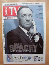 Polish Magazine GAZETA TV, KEVIN SPACEY on front cover