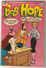 NATIONAL DC Comics VG BOB HOPE ADVENTURES OF  #28 1954 cent copy
