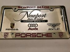 Porsche License Plate Frame For Sale Ebay