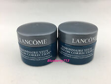 Lot of 2: Lancome Visionnaire Multi correcting Eye Balm Cream 6g *2=12g / 0.4 oz