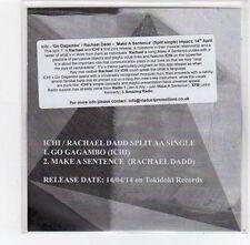 (FE491) Ichi / Rachael Dadd, split single - 2014 DJ CD