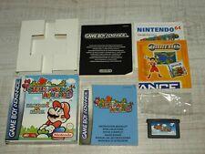 Nintendo Game Boy Advance Super Mario Advance mit OVP+Anleitung