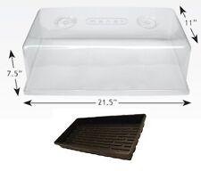 "Mondi 1020 Propagation Tray & 7"" Humidity Dome W/ Vents SAVE $$ W/ BAY HYDRO $$"