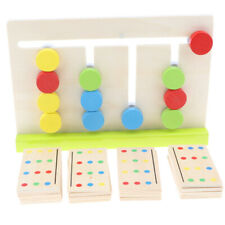 Montessori Sensorial Material 4 Colors Sorting Kids Early Learning Wood Toy