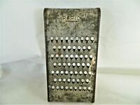 RAPID SHREDDER/ GRATER METAL VEGETABLE CHEESE VINTAGE KITCHEN TOOL, MEDIUM HOLES