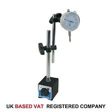 Dial Indicator Test DTI Gauge 0-10mm With Double Pole Magnetic Base 40111963