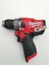 "New Milwaukee 2504-20 M12 12V 12 Volt Li-Ion Fuel Brushless 1/2"" Hammer Drill"