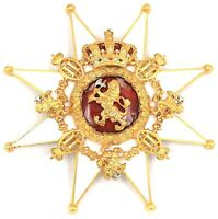ORDER OF THE NORWEGIAN LION BREAST STAR