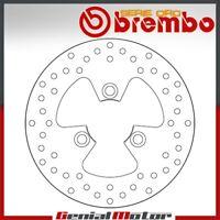 Bremsscheibe Fest Brembo Serie Oro Hinten Peugeot Citystar 150 2014 > 2016