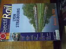 3µ? revue Objectif Rail n°49 Z 5300 Lyon Strasbourg Mont Blanc Express Acheres