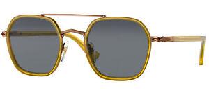Persol PO 2480S Honey/Blue 50/22/145 unisex Sunglasses