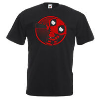 Stewie DeadPool T Shirt Cartoon Family Mashup Funny Tee From Popular Movie