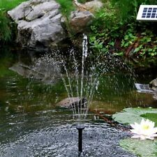 Up to 500lph Solar Pond & Fountain Pumps