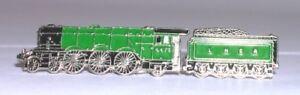 Flying Scotsman Style Steam Train Pin Badge