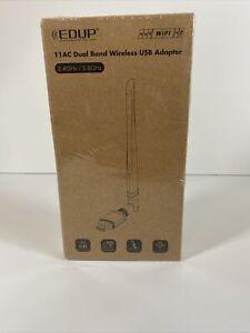 USB 3.0 WiFi Adapter Dual Band 5dBi Wireless Antenna AC 2.4G 5.8GHz EDUP AC1686