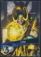 2015 Marvel 3-D Trading Card #13 Loki