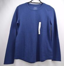 Sonoma Women's Pull Over long Sleeve Navy Sweater Top Size S