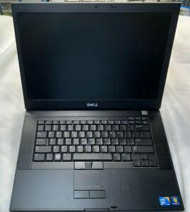 """Dell Latitude E6500 15"""" Core 2 Duo 120GB SSD 2GB Webcam Windows 7 Pro"""