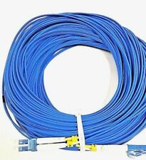LC-LC SM Single Mode Duplex 60M Blue  200 feet 60 meter