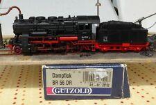 Gützold 28102 locomotive à vapeur BR 56 2719 DR Ep.3 BW Kamenz in,Enregistré,