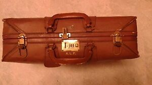Crouch & Fitzgerald New York Vintage Suitcase