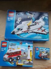 3 LEGO CITY SPACE BOXED SETS + INS 3365 3366 3367 MOON BUGGY SHUTTLE LAUNCH PAD