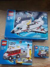 3 sets de Lego City espacio En Caja + INS 3365 3366 3367 Moon Buggy lanzadera pad de inicio