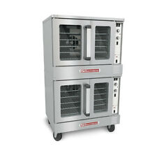 Southbend SilverStar Double Deck Gas Convection Oven w/ CASTERS
