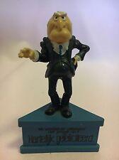 Schleich Muppet Show Walldorf & Statler PVC figure on a stand sockel 1980