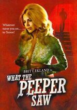 What The Peeper Saw - Dvd-standard Region 1