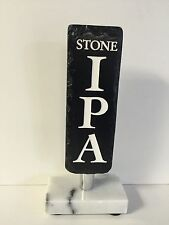 "Stone Brewing IPA Beer Tap Handle Marker ~ NEW In BOX & Free Shipping ~ 8"" Tall"