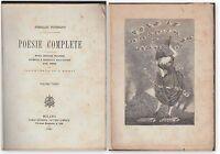 A. FUSINATO-POESIE PATRIOTTICHE VOLUME TERZO-CARRARA 1881 ILL. O. MONTI-L3317