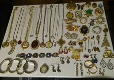 """Large Mixed """"Junk Drawer"""" Lot Of Vintage Costume Jewelry"""