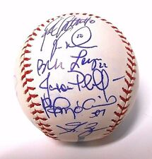Troy Glaus Vernon Wells 2006 Blue Jays Baseball Ball team Signed Autographed
