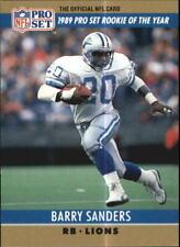 1990 Pro Set Football Card #1 Barry Sanders LIONS R19794
