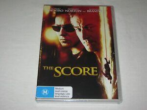 The Score - Robert De Niro - Brand New & Sealed - Region 4 - DVD