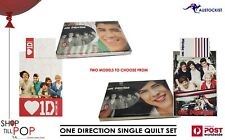 One Direction Logan & Mason - 1D - Single bed quilt set BNWT  2 Models to choose