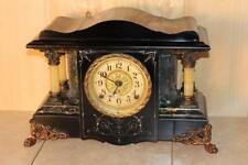 "Antique Seth Thomas ""Shasta"" Style Adamantine Mantle Clock *Running* C. 1905"