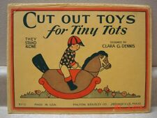 Cut Out Toys for Tiny Tots - They Stand Alone, Milton Bradley Co., 1929