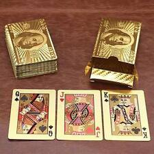 PURE GOLDEN USD DOLLAR POKER PLAYING CARD