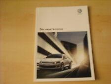 50456) VW Scirocco Prospekt 10/2008