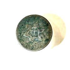 1853 3 Cent Silver Piece Original Patina