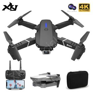 Drone XPro WIFI 4K HD Camera 3Battery RC Foldable Quadcopter Drone free Shipping
