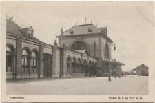 Netherlands Leeuwarden Station S. S. en H.I.J.S.M 01.29