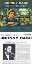 "Johnny Cash ""Now there was a song!"" 12-Song-Werk, von 1960! Nagelneue CD!"