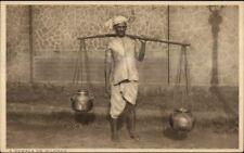 Native Life India? Ethnography c1910 Postcard GOWALA or MILKMAN