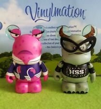 "Disney Vinylmation 3"" Park Set 1 Monsters University Rosie and Carla"